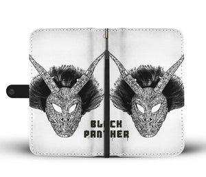 Cool Wallet Case- Black Panther