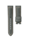 CHRONOMETRYX Straps for PANERAI - Calf Bellagio Green Beige Stitching