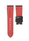 CHRONOMETRYX Straps for PANERAI - Calf Imola Black Beige Stitching