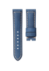 CHRONOMETRYX Straps for PANERAI - Calf La Spezia Blue Beige Stitching