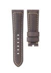 CHRONOMETRYX Straps for PANERAI - Calf Livorno Grey Beige Stitching