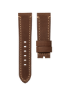 CHRONOMETRYX Straps for PANERAI - Calf Mugello Brown Beige Stitching