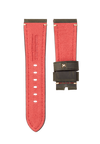 CHRONOMETRYX Straps for PANERAI - Calf Nardo Green Beige Stitching