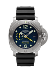 Luminor Submersible 1950 3 Days GMT Automatic Titanio