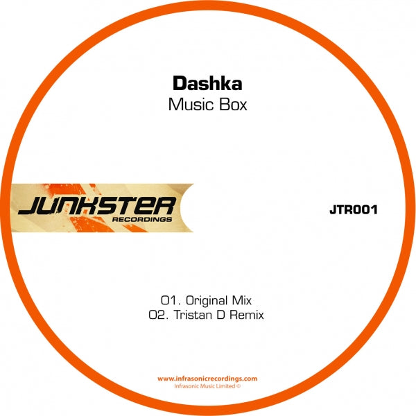 Jtr001 : Dashka - Music Box [CD Single]