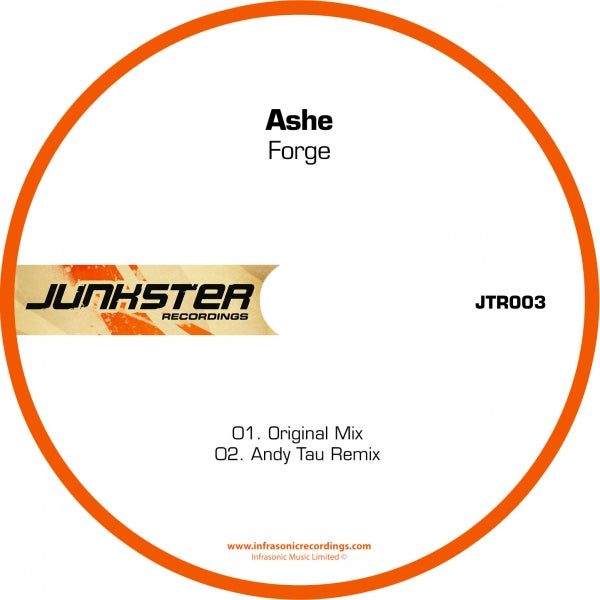 Jtr003 : Ashe - Forge [CD Single]