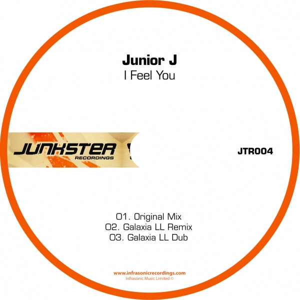Jtr004 : Junior J - I Feel You [CD Single]