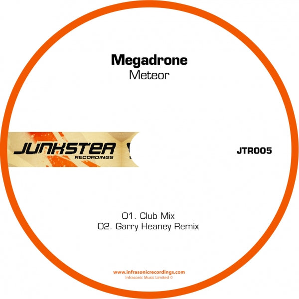 Jtr005 : Megadrone - Meteor [CD Single]