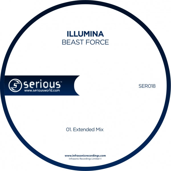 Ser018 : Illumina - Beast Force [CD Single]
