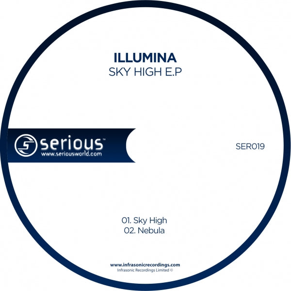 Ser019 : Illumina - Sky High E.P [CD Single]