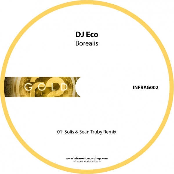 InfraG002 : Dj Eco - Borealis (Solis & Sean Truby Remix) [CD Single]