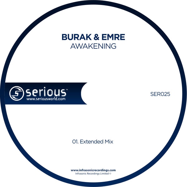 Ser025 : Burak & Emre - Awakening [CD Single]