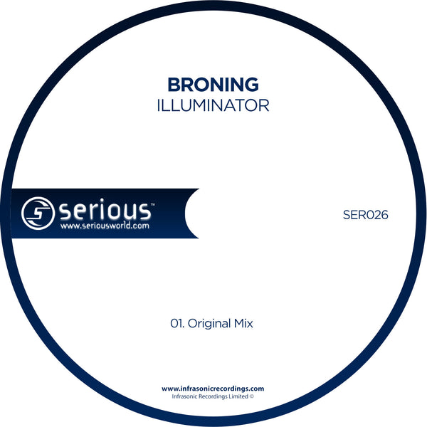 Ser026 : Broning - Illuminator [CD Single]