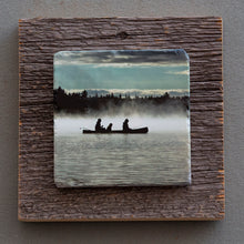 Load image into Gallery viewer, The Morning Paddle - On  Barn Board  0152