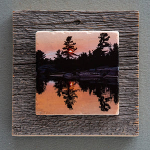 Killarney Sunset II - On Barn Board 0051