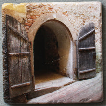 Load image into Gallery viewer, The Two Doors - Trivet #0167
