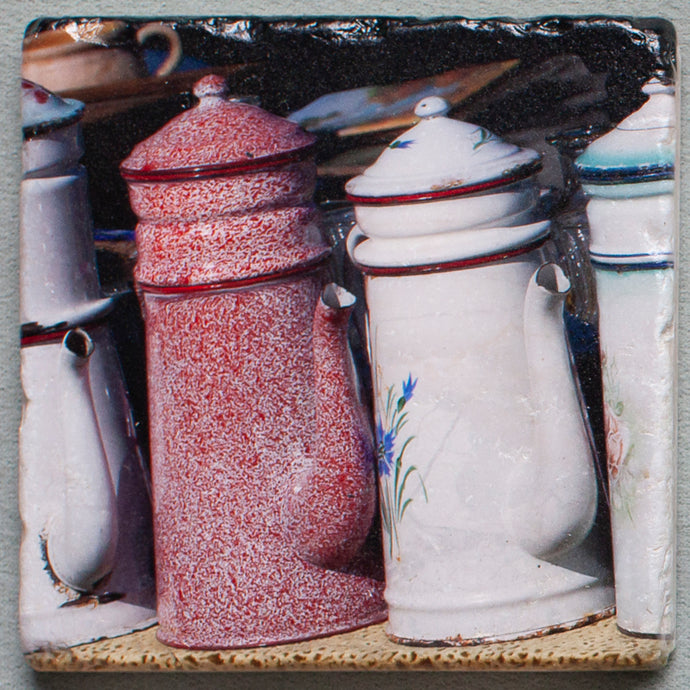 Coffee Pots - Trivet #0389a