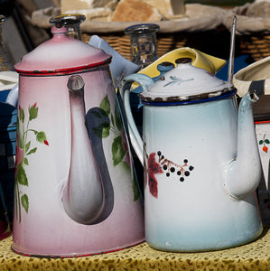 Coffee Pots - Trivet #0390a