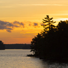 Load image into Gallery viewer, Muskoka Pines Sunset - Trivet #0891