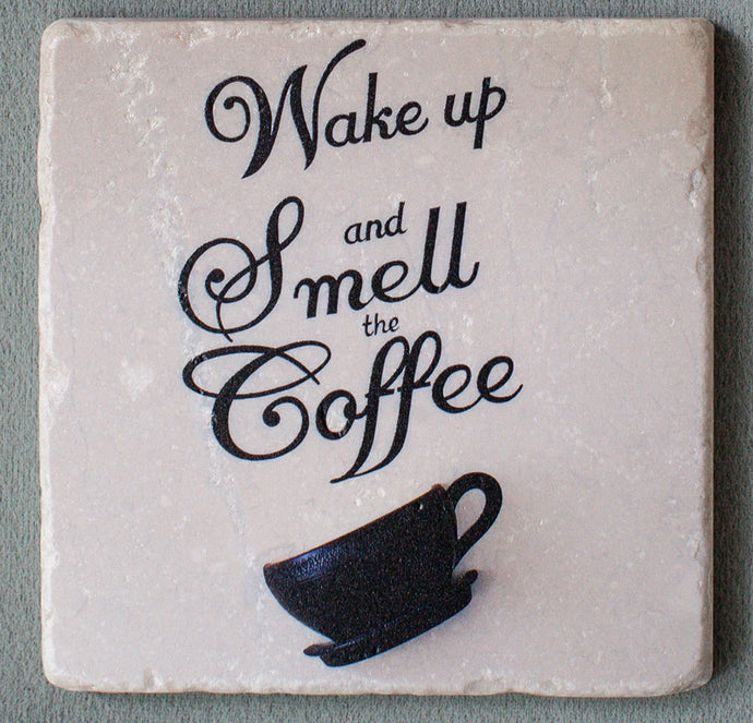 Smell the Coffee - Coasters #1223