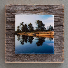 Load image into Gallery viewer, Sunrise Reflections - On Barn Board 1562