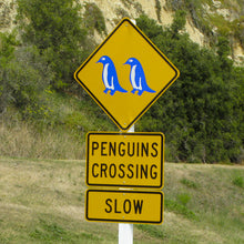 Load image into Gallery viewer, Penguins Crossing - Trivet #7173
