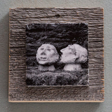 Load image into Gallery viewer, Talk To Me B&W - On Barn Board 8048