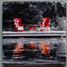 Load image into Gallery viewer, Muskoka Reflections - Trivet #9940