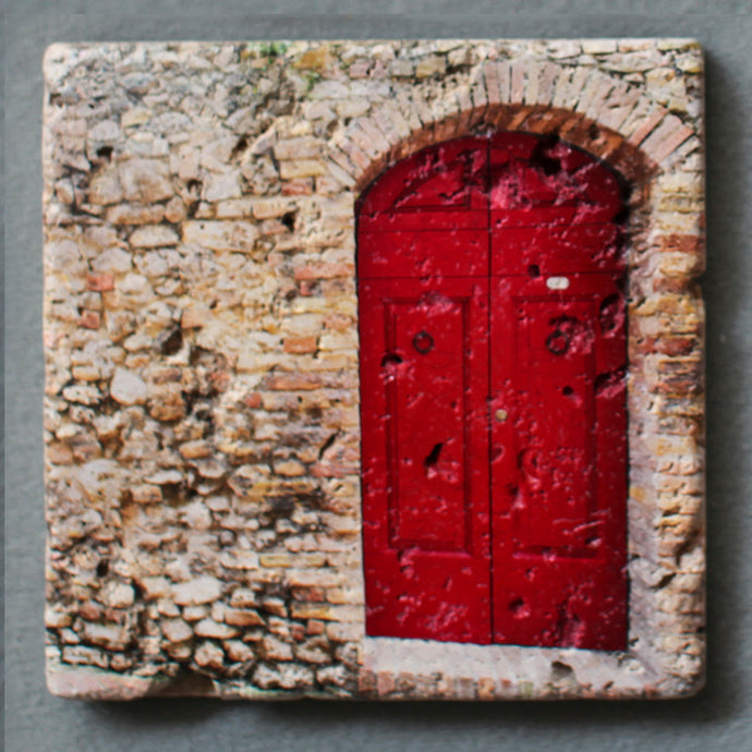 The Red Door Wall Art