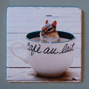 Chippy Au Lait #0119 Trivet