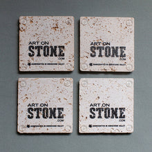 Load image into Gallery viewer, Custom Textured Coasters | Set of 4