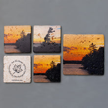 Load image into Gallery viewer, Custom Textured Coasters and Trivet | Set of 5