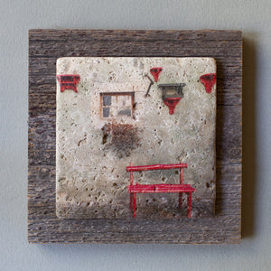 Coccineous Accents Barn Board