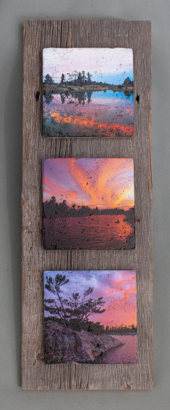 Custom Art Triptych #0281