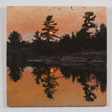"Load image into Gallery viewer, Killarney Sunset II - 12"" Wall Art 0051"