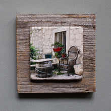 Load image into Gallery viewer, The Resting Place - On Barn Board 1172