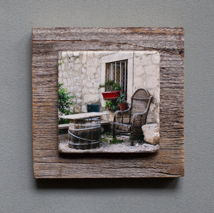 The Resting Place - On Barn Board 1172