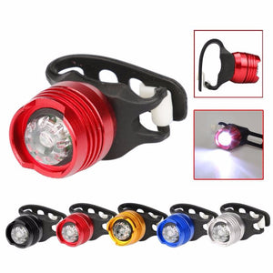 LED Bicycle Light Front / Rear Tail Flash Light / Safety Warning Lamp
