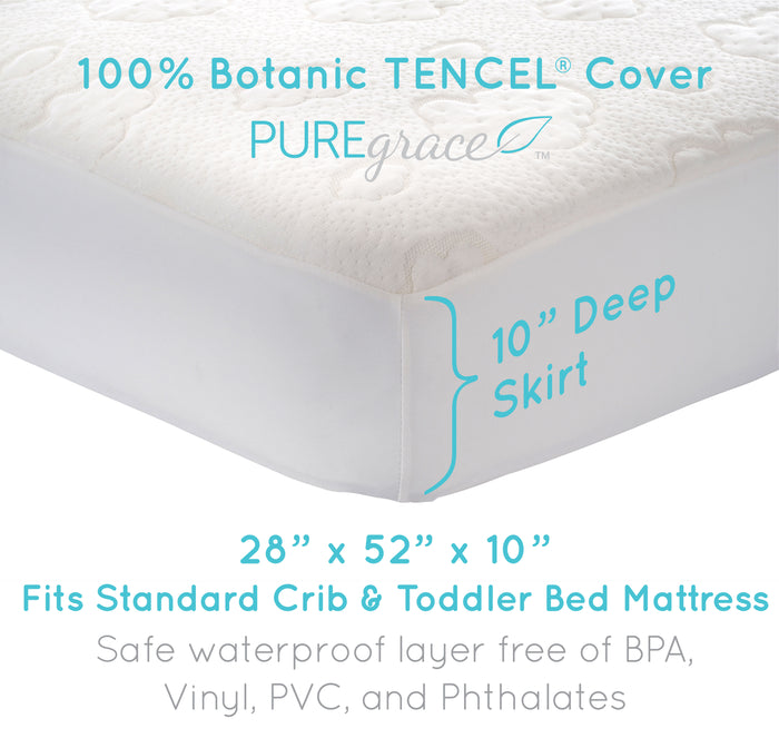 fitted waterproof mattress cover