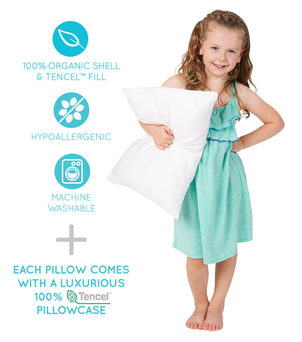 Hypoallergenic children pillow