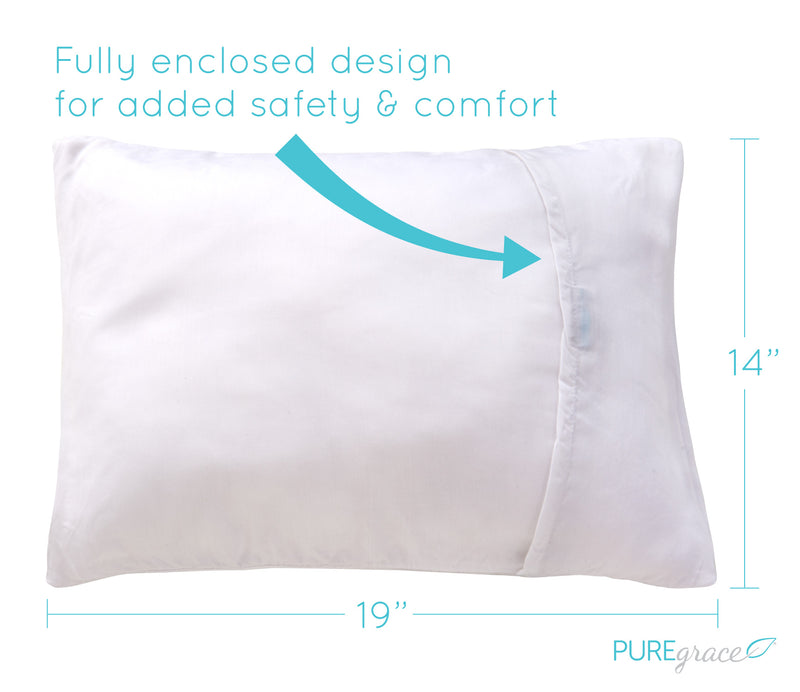 Toddler pillow with pillow case