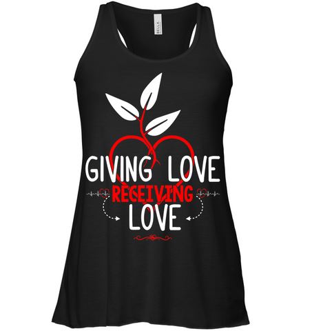 GIVING LOVE Woman´s Flowy Tank - MatZul