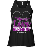 ALWAYS LOVE GERMANY Women's Flowy Tank - MatZul