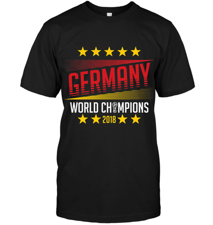 GERMANY WORLD CHAMPION Unisex T-Shirt - MatZul