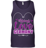 ALWAYS LOVE GERMANY Unisex Tank - MatZul