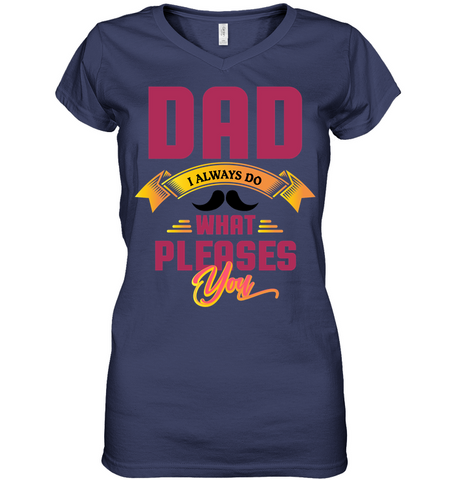DAD1 Women´s V-Neck T-Shirt - MatZul