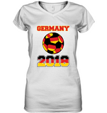 GERMANY 2018 Women´s V-Neck T-Shirt - MatZul