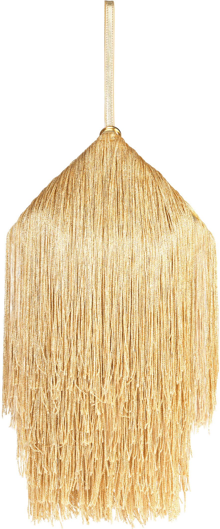 GOLD FRINGED LANTERN