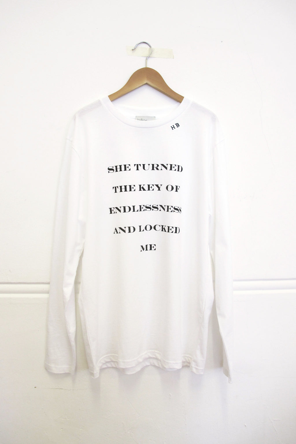 KEY OF ENDLESSNESS LONG SLEEVE T-SHIRT