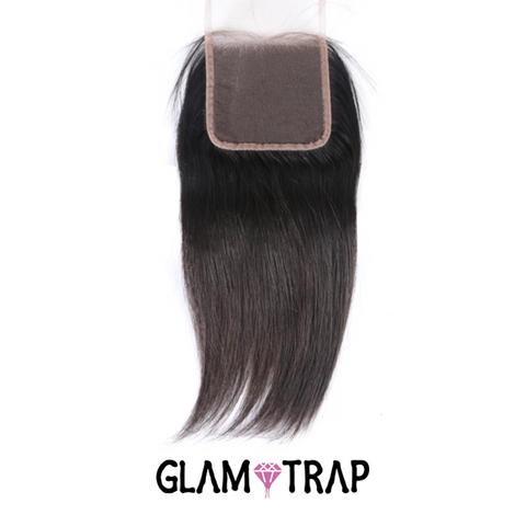 Brazilian Straight Lace Closure (5x5)